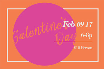 the Parlour - Galentine's Day - Web Image - 01-2017